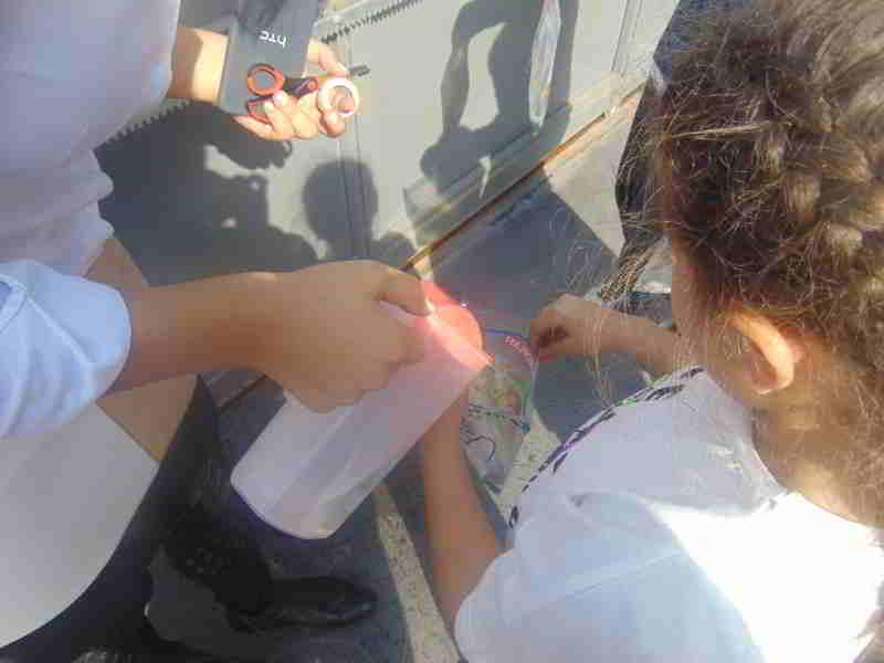 Sosyal Bilgiler dersinde su döngüsünü yaptık ve yoğunlaşma ve buharlaşmayı gözlemledik.