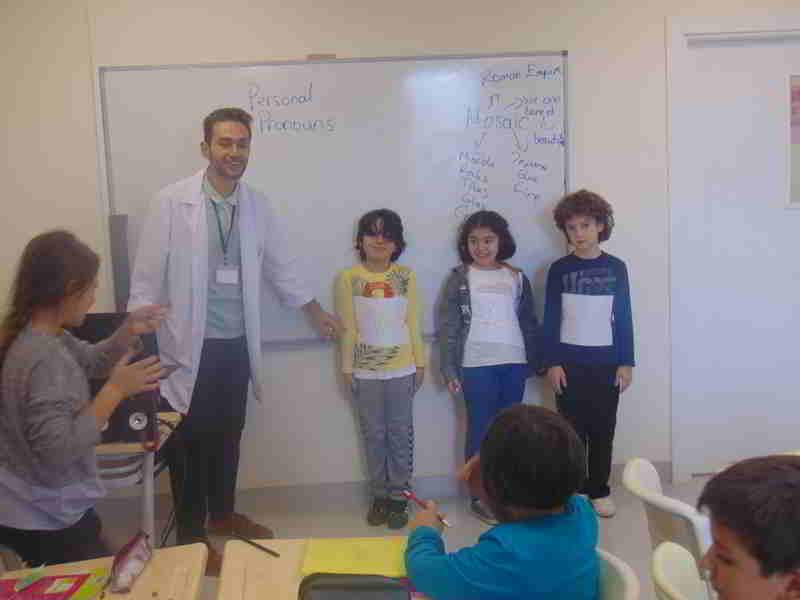 İngilizce dersimizde tekil ve çoğul şahısları öğrendik.