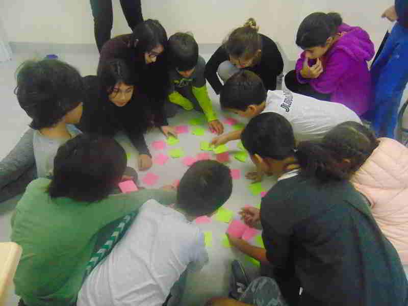 Eş anlamlı kelimeler konusunda eş anlamlı kelimeleri bulup birleştirdik