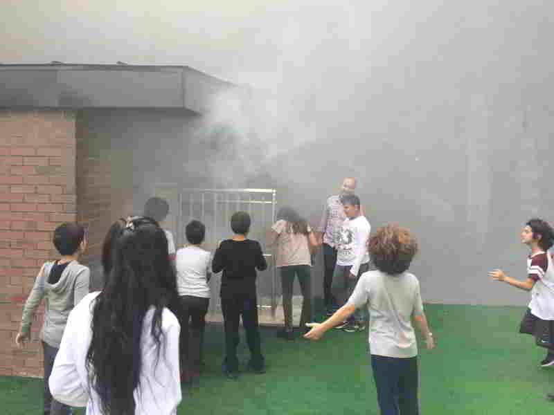 Tepkime çeşitleri konu alanında deneylerimizi gerçekleştirdik