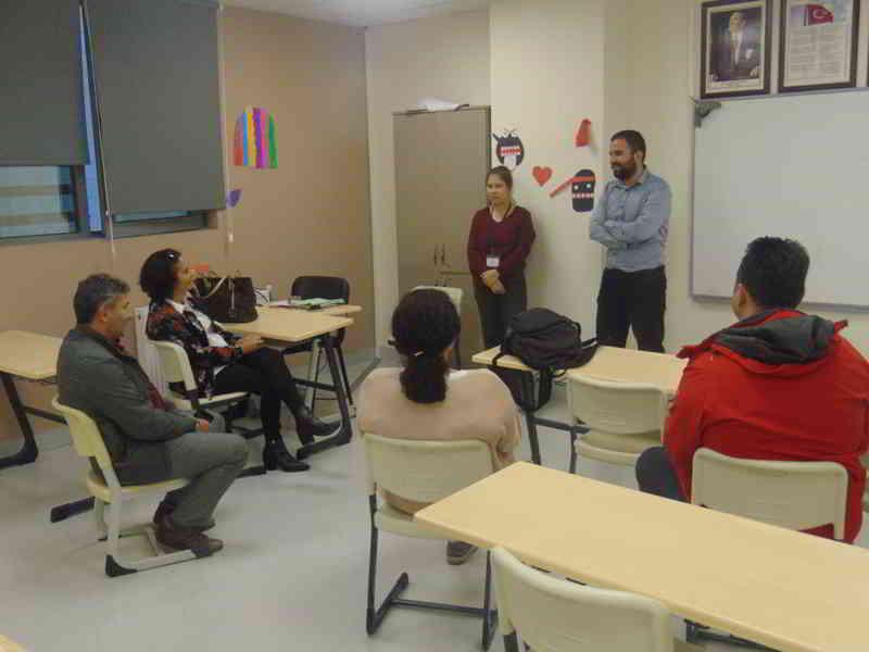2017 / 2018 Eğitim – Öğretim Yılı 1.Dönem Ortaokul Veli Toplantımızda Hep Birlikteydik.