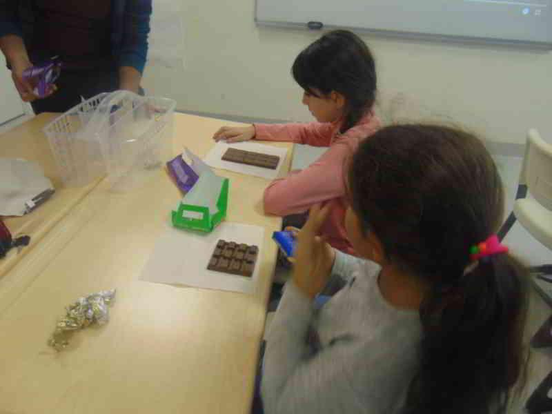 Matematik dersimizde hayata ve parçalara farklı açılardan bakma çalıştık