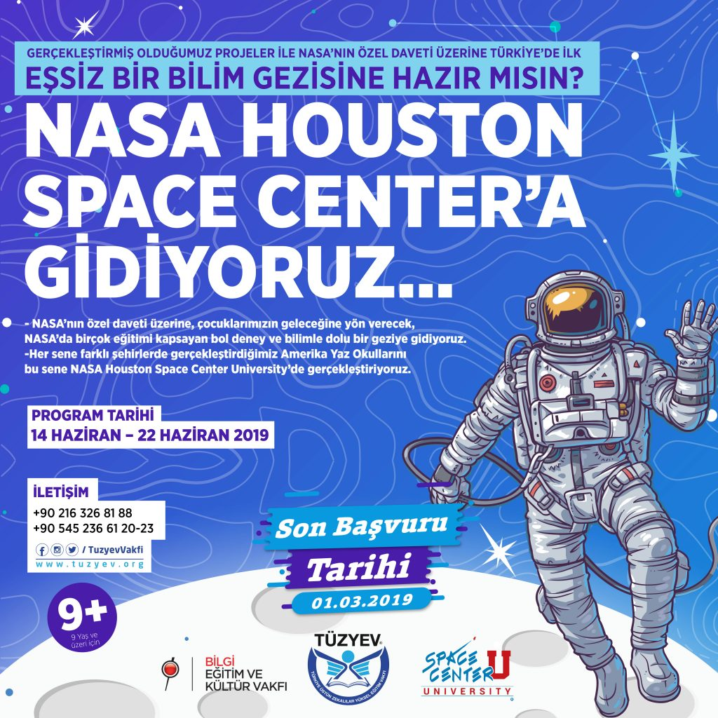 Nasa Houston Space Center'a Gidiyoruz!