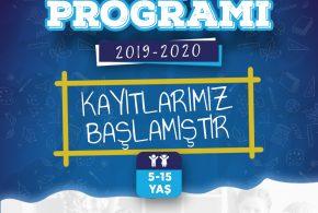 2019 KIŞ PROGRAMI KAYITLARIMIZ BAŞLAMIŞTIR!